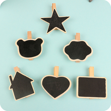 (10 Pieces/Lot) Wooden Stationery Wooden Clips Christmas Decorations School Binder Office Organizers Mini Wooden Clip 5-8CM