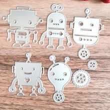 HOT Metal Cutting Dies Stencil DIY Clock Animals Scrapbooking Embossing Album Paper Card Craft(China)
