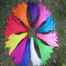 50 pcs/lot of beautiful cock tail feathers 14-16 inches / 35-40 cm variety of colors optional DIY dance celebration decoration(China)