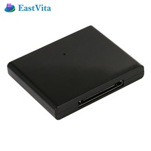 EastVita Bluetooth A2dp Music Audio Receiver Adapter for iPhone for iPod Bose Sounddock 30-pin Dock Speaker