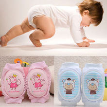 Baby Crawling Knee Pads Safety Anti-slip Walking Leg Elbow Protector Infant Knee Pads Protection Leg Warmers(China)