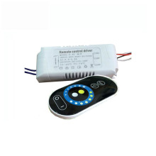 1X Wireless constant current cct & brightness adjustable led driver 220V input 30-36W with 2.4G RF touch remote controller