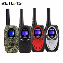 2pcs 4 Color Retevis RT628 Kids Radio Walkie Talkie 0.5W UHF 462.550-467.7125MHz Frequency Portable Hf Transceiver A1026