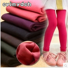 Cyjmydch Girl winter leggings velvet panty-hose winter warm leggings for girls warm pants for girl children clothes thicken pant