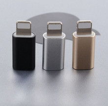 Buy 3 get 4 For iPhone Micro USB Adapter Micro Cable to Light Charging Data Sync Cable for iPhone iPad(China)