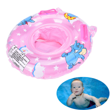 0-2 Years Babies Swim Ring Baby Inflatable Swimming Neck Float Inflatable Tube Ring Safety Child Toys 2Colors