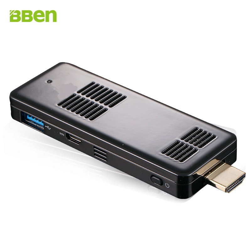 1Piece Bben Mini PC Stick Computer Windows 10 Dual OS Intel Z8300 Quad Core TV Box RAM/ROM 2GB/32GB Computer PC in Stock<br><br>Aliexpress