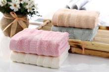 Freeshipping 5pcs 35*35cm bamboo fiber towel  baby towel  face towels baby care wash cloth kids hand towel