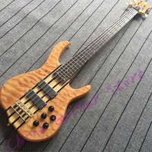 Custom shop China Factory Product with good quality;smith bass;4/5/6 strings models;korean bridges;Free shipping(China)
