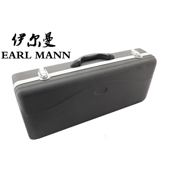 Graceful Plastic Box Case For Drop Eb Alto Musical Instruments Saxophone Sax ABS Luggage Bags Genuine Factory New Arrivals<br>