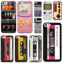 Back Cover For Apple iPhone 6 6s fundas capa Classic old phone tape radio Patterns Soft Sillicon Transparent TPU Phone Cases