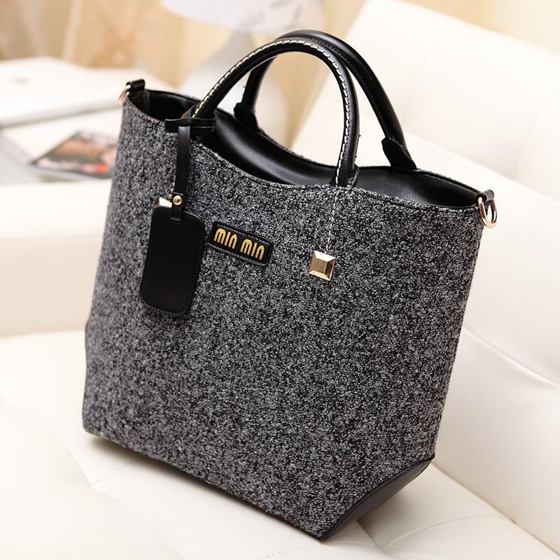 New European Fashion Handbag Bucket Retro Women Handbags tote Promotion Hot 2017 Lady Shoulder Bag<br><br>Aliexpress