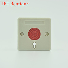 10 PCS NC NO Signal output Options Security Alarm accessories Push Panic Button Fire alarm Emergency Press Switch Free shipping