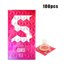 Buy Adult Life Condoms 100 Pcs Natural Latex Smooth Lubricated Condom Small Size Contraception Condoms Men Sex Toys Sex Products