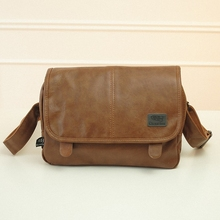 wholesale price good quality men's messenger bags pu leather travel bag luxury style bags drop shipping