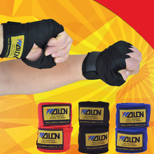 2pcs/roll Width 5cm Length 2.5M Cotton Sports Strap Boxing Bandage Sanda Muay Thai MMA Taekwondo Hand Gloves Wraps Boxeo