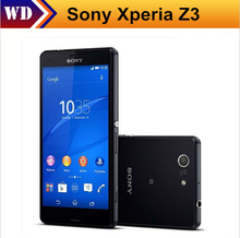 Sony Xperia Z3 D6603 Android 4G Smartphone 5.2 Inches Screen 20.7MP Quad-core 16GB ROM 3GB RAM