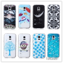 Cartoon 2015 Best Selling Foreign Trade PC Hard Phone Case Embossed PC Cover Phone Case For Samsung Galaxy s5 mini G800(China)