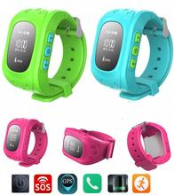 Childrens' safty!Kids Smart Bracelet Digital WristWatch Q50 GPS Position&Bidirectional Call&SOS Communicator IOS&Android Phone