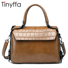 Tinyffa 2017 Luxury Handbags Women Bags Designer Famous Brands Ladies Hand Bags Shoulder Crossbody Messenger Bags Leather Tote