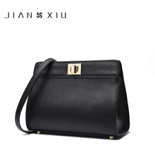 JIANXIU Brand Women Messenger Bags High Quality Genuine Leather Shoulder Crossbody Bag 2017 New Fashion Carteras Mujer De Hombro(China)