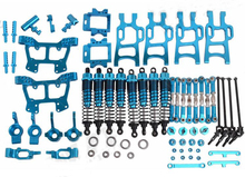 HSP 1/10 RC Monster Truck bigfoot car Metal Upgrade Spare Parts Set HSP 94108 94111 Aluminium Alloy Spare Parts Set 102011 10802