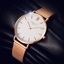 2017 Hot Fashion Brand Women Casual Roman Numeral Watch For Sport Men Luxury Women Leather Quartz Wrist Watch relogio Men Clock