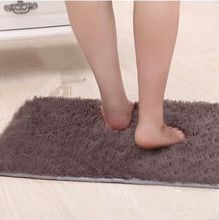 1 PCS Door Mats Bathroom Floor Rug Washable Cleaned Bath Mat Bathroom Floor Rugs Toilet Rug Bedroom Door Carpet