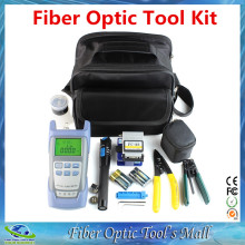 Fiber Optic Tool Kit with Clivador de Fibra Otica and Power Meter Fiber Fault Locator 5km(China)