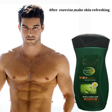 Oil-Control Moisturizing Skin Care Shower Gel Deeply Cleaning After Sport Body Fell Refresh 260 ML Free Shipping(China)