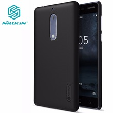 SFor NOKIA5 NOKIA 5 case NOKIA 5 cover NILLKIN Super Frosted Shield matte hard back cover case with free screen protector(China)