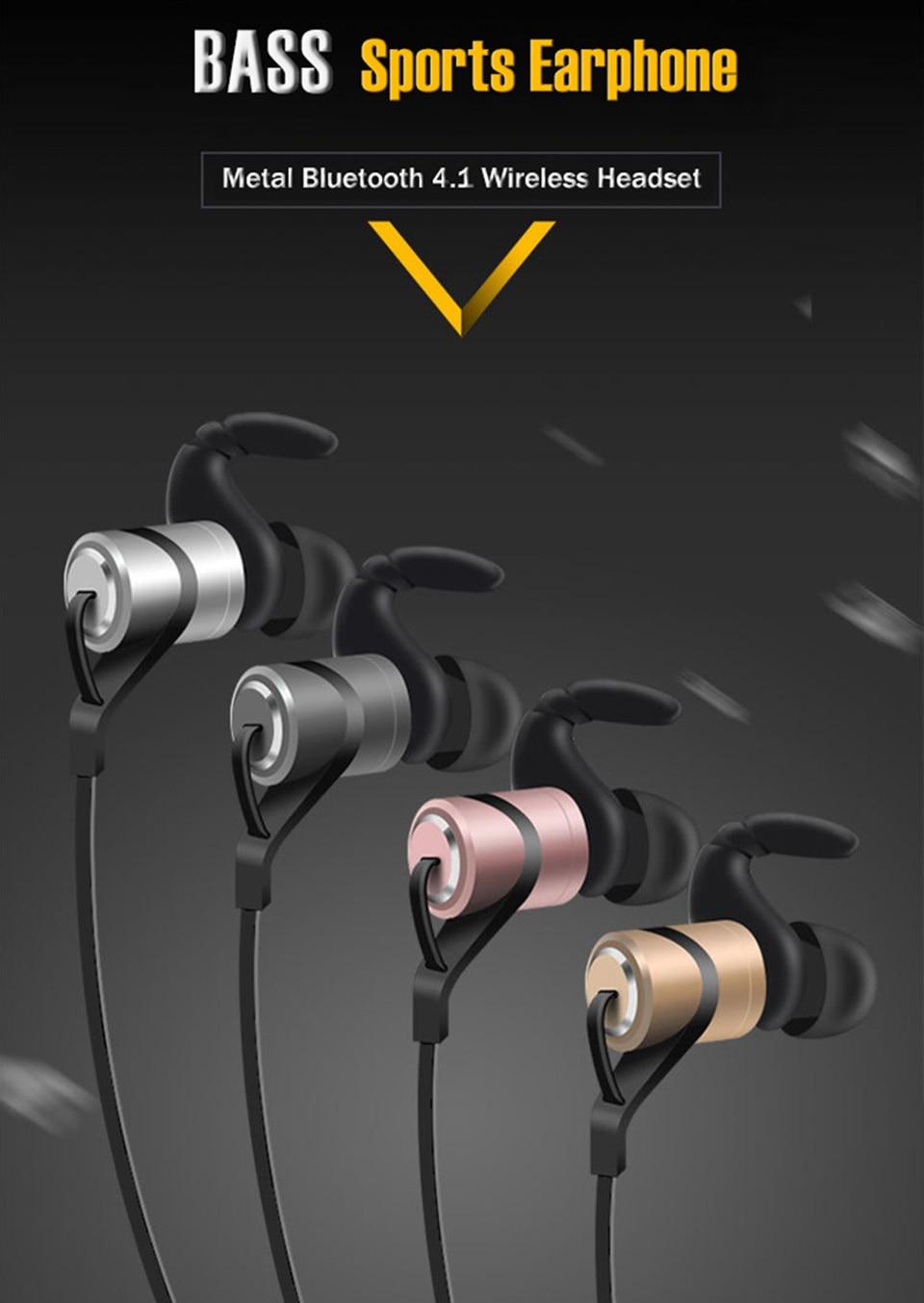 LEPHEE Sport Earphone Hifi Wireless Earphones Bluetooth Super Bass Earbuds with Mic Noise Cancelling Headset for Xiaomi Mi Phone