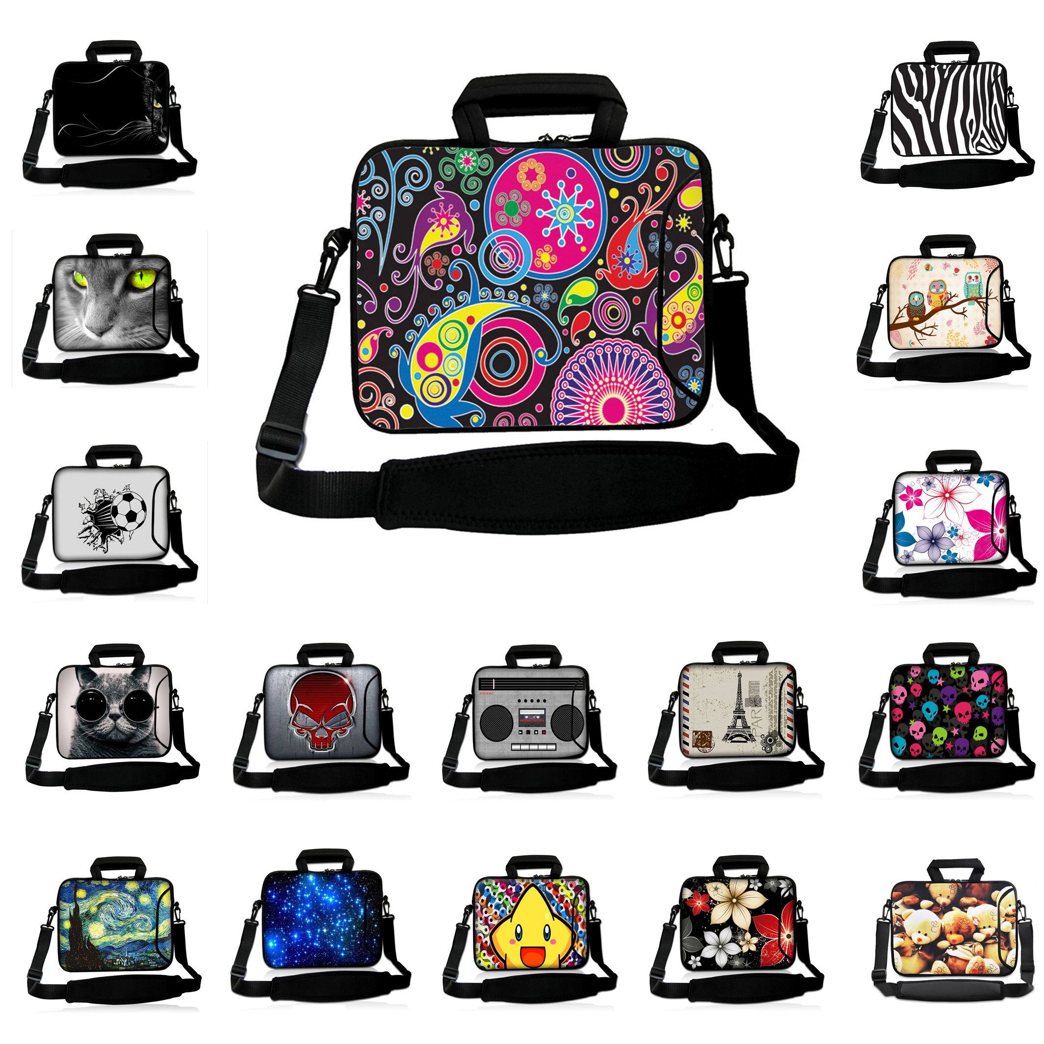 For Sony Lenovo Macbook Pro Notebook 15.3 15.4 15.6 inch Shoulder Strap Messenger Laptop bags15 inch Tablet Notebook Pouch Cases<br><br>Aliexpress