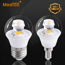 1PCS E27 / E14 COB Led Bulb Lamp High Power 5W Focos Luz Led Spot Lighting Led 360Degree Full Art Home Lighting 3Years Warranty