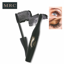 MRC Brand 3D Fiber Eyelashes Mascara Lengthening Beauty Makeup Cosmetic Curling Eyelashes Black Makeup Brand Mascara(China)