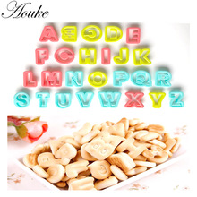 1PCS 26 pc/set Alphabet Font Biscuit Cookie Cutter Letter Fondant Tool Ice Topper Cake Mold Decorating Pastry P035