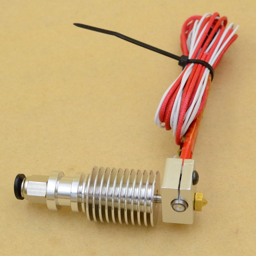 1.75/3 mm bowden printing head kit All Metal Bowden J-head Hotend . extruder For . Reprap 3D printer<br><br>Aliexpress