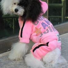 New Arrival High Quality Fashion Female Dog Coat, Pet Winter Clothes Teddy Bear Clothing Dog Clothes