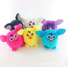 2017 New Plush Interactive Toy Owl Phoebe 6 Color Electric Pets Owl Elves Plush toys Recording Talking Toys Gifts Furbiness boom(China)