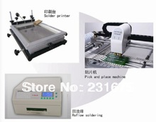 SMT Production line,reflow oven T-962A, SMT Automatic pick and place machine TM240A,solder printer,PCB board,Solder Paste