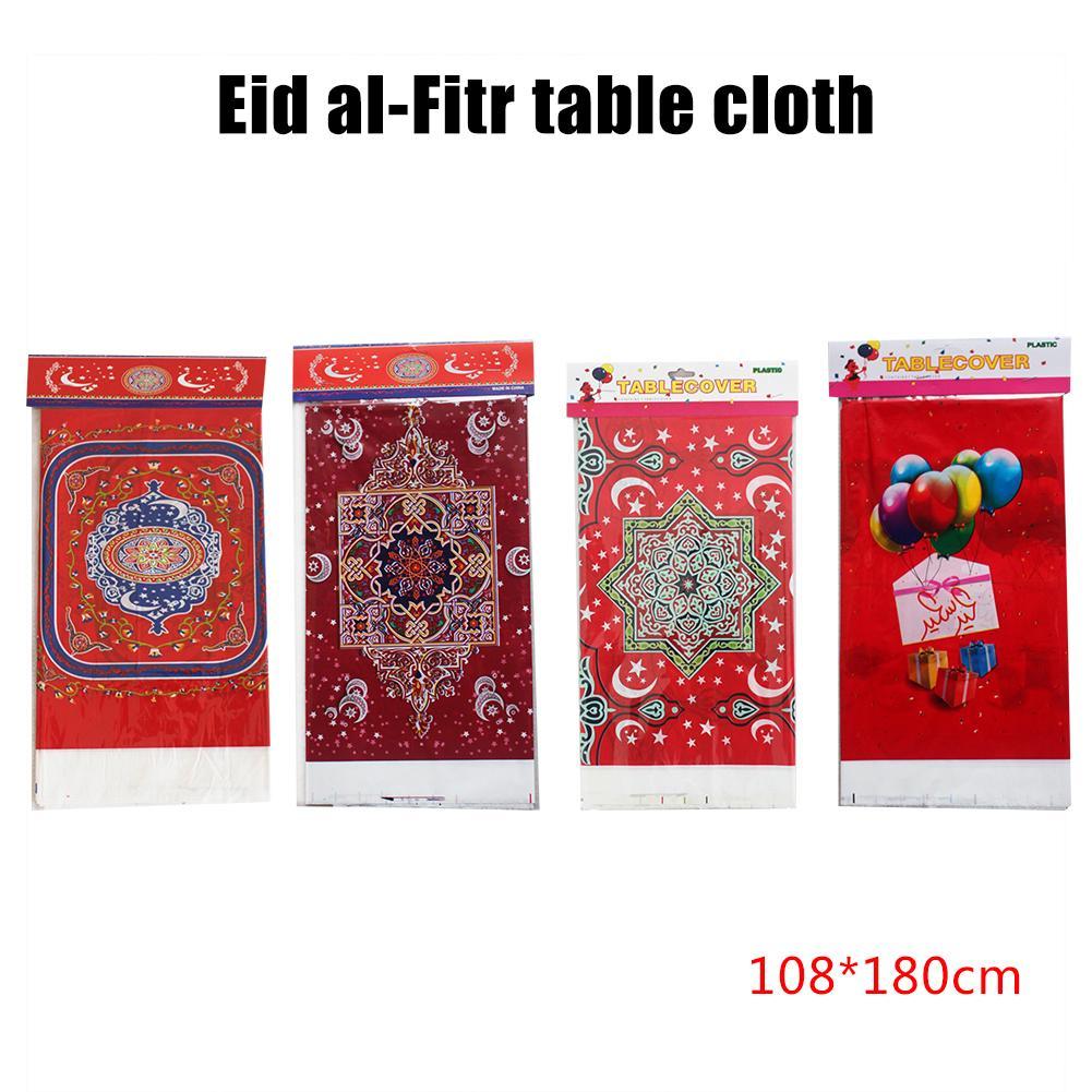 Eid MUBARAK//Ramadán colorida celebración Fiesta Mantel