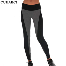 Buy CUHAKCI New Women's Sexy Leggings Fitness High Waist Elastic Super Stretch Women Leggings Workout Leggins Trousers Gray Pants for $6.97 in AliExpress store