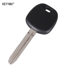 KEYYOU New Uncut Replace Transponder Ignition Car Key for Toyota Tacoma Toy43 Blade No Chip WITH LOGO
