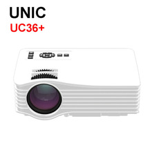 Original UC36 1080P HD Home Theater 3D Cinema HDMI USB Digital Multimedia LCD LED Mini Projector projetor Cheaper Than UC46