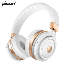 Picun P3 Bluetooth Headphones With Mic. Support TF Card MP3 Wireless Earphone Stereo HiFi Music Headset for Xiaomi iPhone Gaming(China)
