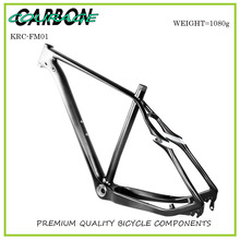 Buy 2017 bicycle 29er carbon frame Chinese MTB carbon frame 29er 27.5 carbon mountain bike frame disc carbon fiber frame 29 for $515.00 in AliExpress store