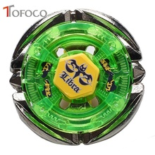 TOFOCO Movie Anime Spinning Top Fight 4D Metal Fusion Toupie Libra Beyblade Set Toys For Sale Boy Kid With Launcher Warrior(China)