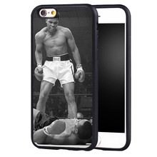 Muhammad Ali Boxing Legend case cover For Samsung s6 S7 S6edge S8 S8plus s4 s5 note 2 3 4 5