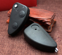 Car Flip Folding Remote Key 2 Buttons Keyless Shell  For Alfa Romeo 147 156 FOB Car Key Case Blanks