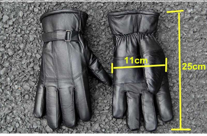men glove size